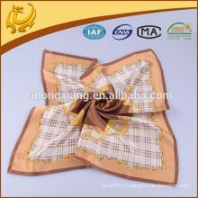 Écharpe petite taille imprimée en soie pour enfants