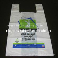 Grand sac en plastique pour t-shirt