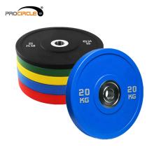 GYM PU-Gewichts-Platte hergestellt in China