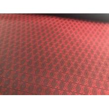 Red X Letter Jacquard Futter