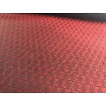 Red X Letra Jacquard Forro
