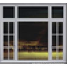 Vente chaude / prix compétitif / haute qualité / meilleures fenêtres pivotantes en bois Fenêtres en verre double vitre en aluminium