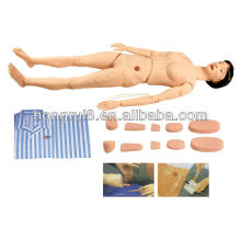full functional nursing manikin, female manikin