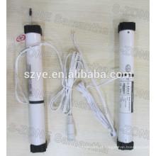 DC 24 milímetros único eixo dual motor de cortina veneziana para elétrico venezianas de alumínio