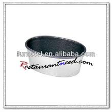 Molde antiadherente de la torta de esponja del silicio de la aleación de aluminio V422