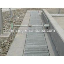 rejilla de acero del piso de rejilla de acero del dren del piso de concreto
