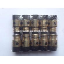 350a torche de soudure isolante insert en laiton