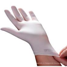 Медицинские одноразовые латексные перчатки