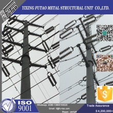 FT galvanized 11m 800dan electrical steel pole
