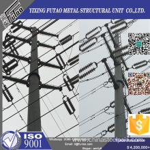 Reliable for Electric Power Poles, Terminal Steel Electric Pole Wholesale From China 110kv 132kv  Galvanized polygonal electric power pole export to Finland Factory