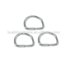 Fashion High Quality Metal Nickel Steel 35mm D Ring
