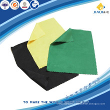 optical cleaning cloths with hot tamping logo
