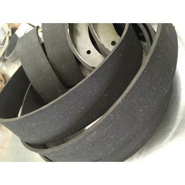 Non asbestos Brake ling Roll Brake Shoe 819