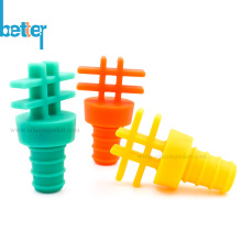 Food Grade Silicone Wine Bottle Stopper Sealed Cover