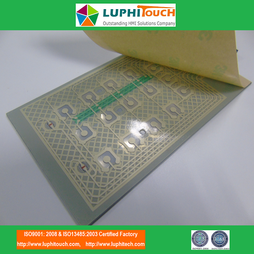 Door Entery Safety Lock Digital Printing Membrane Switch