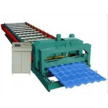Lembaran Bumbung Glazed Roll Rolling Machine
