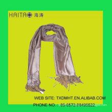 Châle d'écharpe en soie femme de style nouveau - SCARF avec des couleurs vibrantes vives