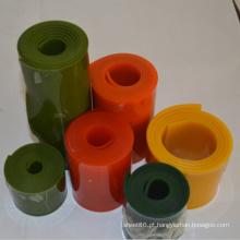 Placa plástica do plutônio do poliuretano da resistência química em cores diferentes