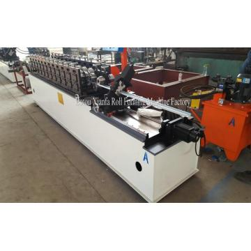 Galvanized steel coil stud and track roll forming machine