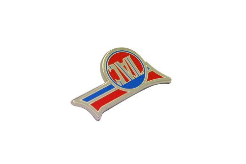 Personalized Metal Alloy Brooch