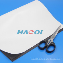 Weiches Gummi-Kleber flexibles Whiteboard-Magnetblatt