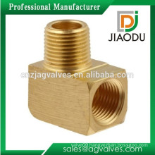 1/4 or 1/2 inch forged brass 90 degree street elbow npt male female threaded fitting for water air and oil price