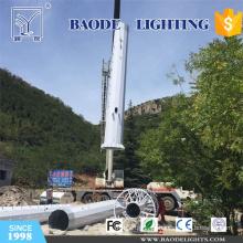 18m GSM Telecom Stahlturm für die Autobahn