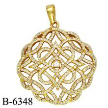 Pingente de prata nova moda jóias de moda