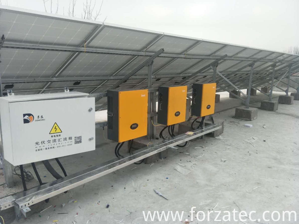 Mono silicon PV power station