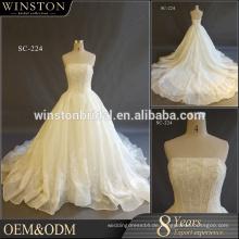 Heiße Verkaufs-Fabrik kundenspezifisches indisches Kleid pakistan Hochzeitskleid