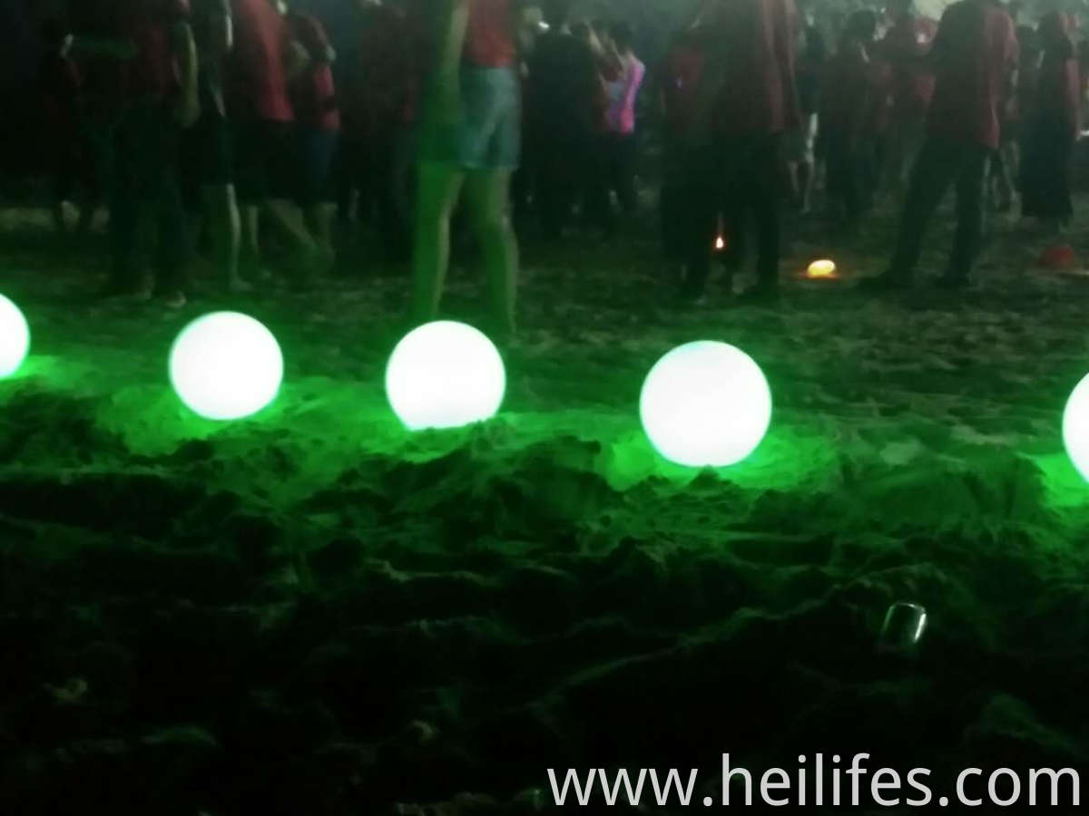 sand beach LED Light Ball