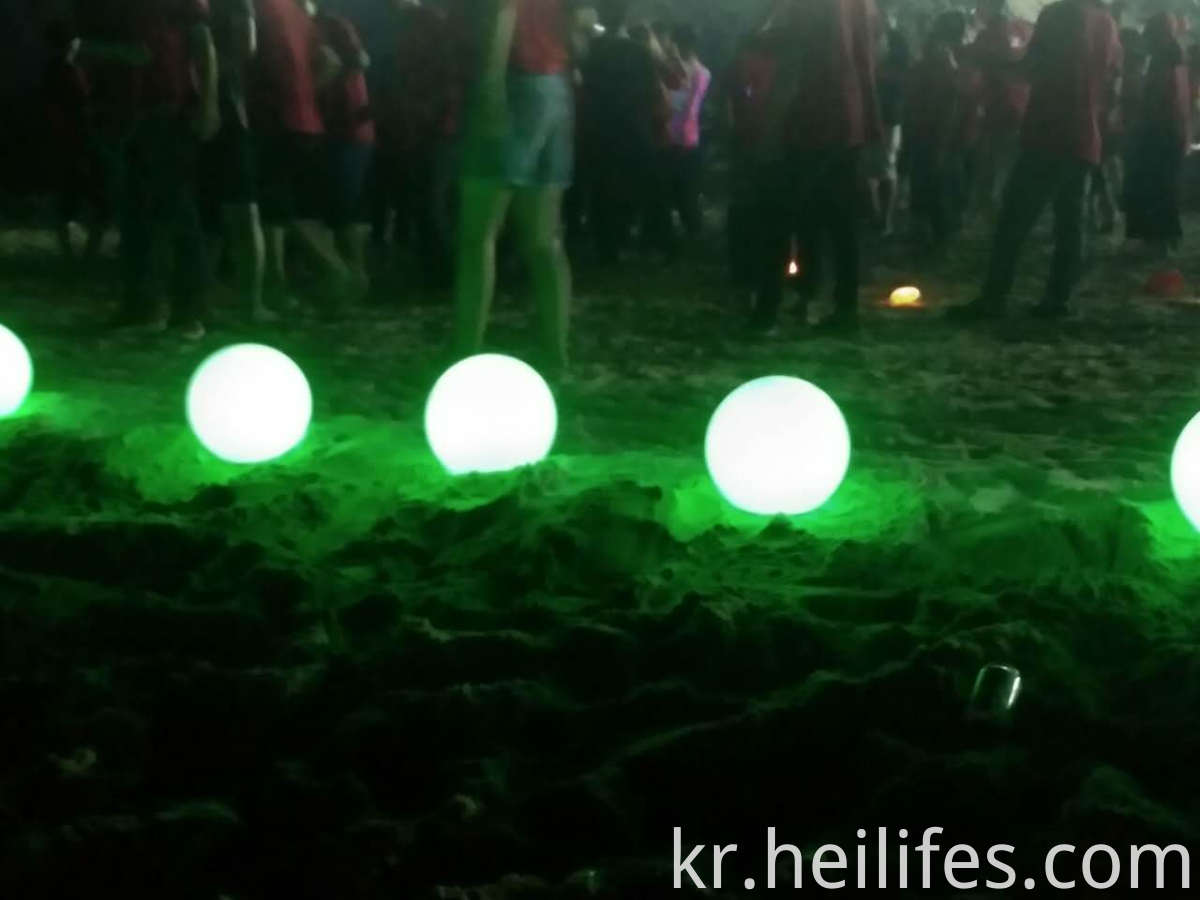 Party Decoration Colorful Led Ball light