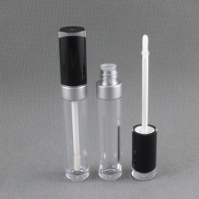 8ml Round Makeup Plastic Lipgloss Tube in stock