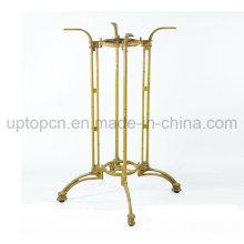 Golden Cast Iron Table Leg for Large Restaurant Table (SP-MTL253)
