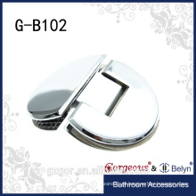 Braçadeira de vidro semi-circular para porta de chuveiro