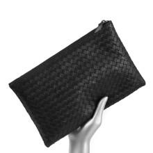 Mens Large Leather Wallet Purse Clutch Bag