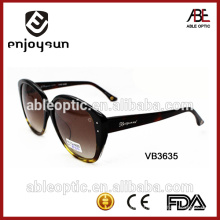 Óculos de sol de design europeu de moda superior com preço de atacado