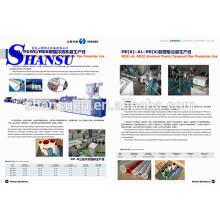 Máquina de tubo de PVC PE plástico 50-200mm