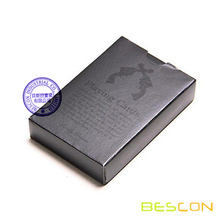 Top Quality Black Playing Cards with Custom Printing, Black Poker Card