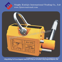 100kg-6000kg Pull Force Magnetic Assembly of Manual Permanent Lifting Magnet/Magnetic Lifter