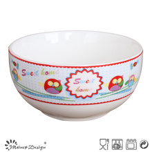 Ceramic Porcelain Cheap Decal Bowl
