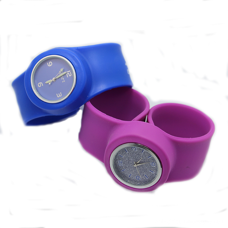 silicone slap watches