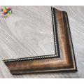 Античная деревянная рамка для зеркала