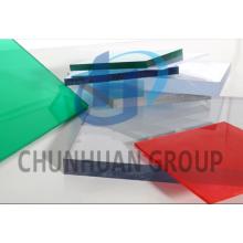 Plástico PC Folha sólida para materiais de construção