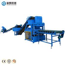 FL4-10 automatische hydraulische presse eco brava interlock ziegelherstellung maschine