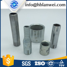 electric galvanized hose nipple