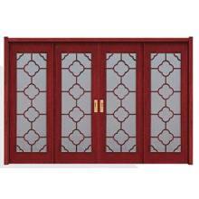 Innenholztür mit Glas für Landhäuser