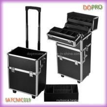 Aluminum Frame Hair Stylist Beauty Cases on Wheels (SATCMC019)