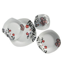 Porcelain Dinnerware Sets, Dish, Spoons and Plates, Made of Ceramic Materials