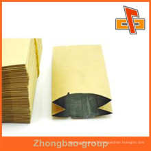 Package pouch with aluminum foil line recyclable paper bag